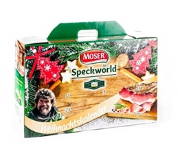 Adventskalender mit Original Speck aus Südtirol - TOP ANGEBOT - Moser Speckworld -