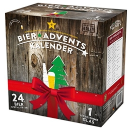KALEA Bier Adventskalender, Edition Deutschland, 24 Bierspezialitäten und 1 Verkostungsglas - 1