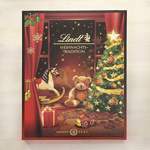 lindt weihnachtstradition adventskalender 1er pack 1 x. Black Bedroom Furniture Sets. Home Design Ideas