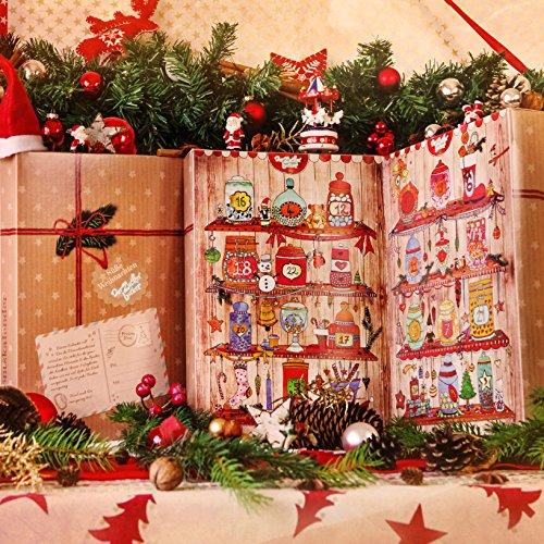 Zauberhafter adventskalender von der zuckerb cker gef llt for Adventskalender ideen fa r erwachsene
