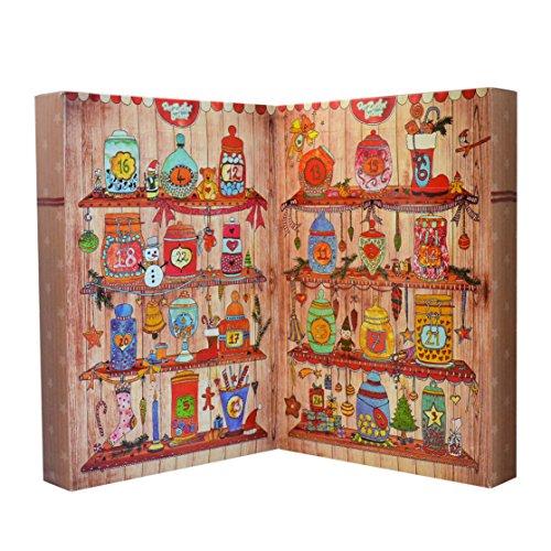 zauberhafter adventskalender von der zuckerb cker adventskalender f r erwachsene. Black Bedroom Furniture Sets. Home Design Ideas