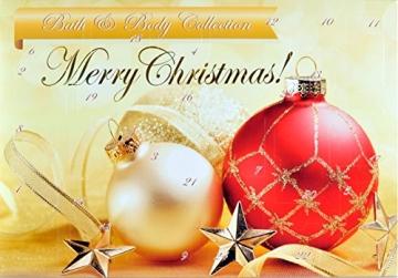 Adventskalender Kosmetik für Sie - Damen Wellness Weihnachtskalender mit 24 Überraschungen für Frauen Bath & Body + 1 Überraschungsgeschenk - 1