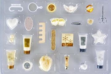 Adventskalender Kosmetik für Sie - Damen Wellness Weihnachtskalender mit 24 Überraschungen für Frauen Bath & Body + 1 Überraschungsgeschenk - 2