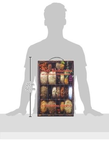 Adventskalender mit Gourmet-Gewürzen exklusiv für Amazon, 1er Pack -