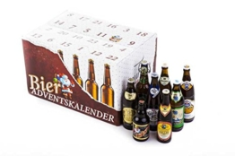 Bier Adventskalender 'Bayerisches Bier' (24 Flaschen / 6,0% vol.) -
