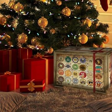 Bieradventskalender Welt und Deutschland mit Guiness + Tiger + Schlappeseppel + mehr ... Ein tolles Geschenk für Männer. Bierset + Geschenk, Biersorten aus aller WELT & DEUTSCHLAND. Bier Adventskalender 2017 - mit 24 Biersorten in FLASCHEN Adventskalender Bier Welt 2017 - Adventskalender für Männer, Adventskalender für Erwachsene, Bierkalender Adventskalender Alkohol, Weihnachtskalender mit Bier, Bier Adventskalender Weihnachtsgeschenke Bier Männer - 3