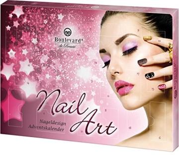 Boulevard de Beauté Nail Art Advent Calendar, 1er Pack - 1