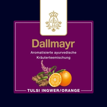 Dallmayr Adventskalender mit 24 Pyramidenbeuteln aus feinsten Teesorten, 1er Pack (1 x 62.4 g) - 12