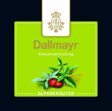 Dallmayr Adventskalender mit 24 Pyramidenbeuteln aus feinsten Teesorten, 1er Pack (1 x 62.4 g) - 2