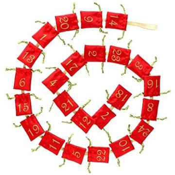 Echtschmuck Adventskalender Damen-Schmuckset Geschenkideen für die Frau oder Freundin mit 24 Schmuckstücken aus 925 Sterling Silber Emaille Kristall mehrfarbig - 4050878527280 - 6