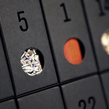 Gewürz-Adventskalender - Adventskalender mit 24 edlen Gewürzen und Rezepten - 4