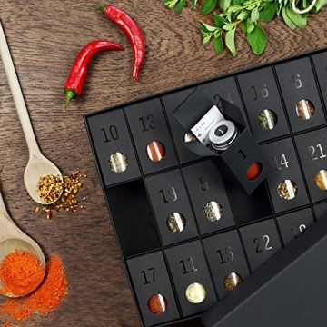 Gewürz-Adventskalender - Adventskalender mit 24 edlen Gewürzen und Rezepten - 6