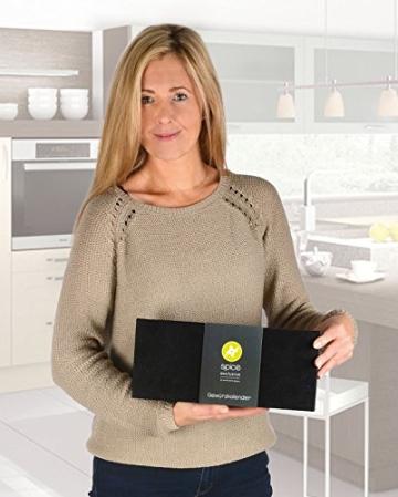 Gewürzbox / Adventskalender mit 24 Gewürzen und - mischungen in Glasdosen. (1,8kg schwer) - der perfekte Adventsbegleiter für jeden Koch - 3