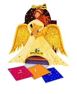 Goldmännchen Engel Tee-Adventskalender 24+1 Portionsbeutel, 1er Pack (1 x 50 g) -