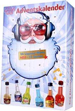 Gräf's - Adventskalender mit Mini-Likören - 24x0,02l/1St -