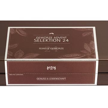 Hallingers Gewürz-Adventskalender Selektion 24, 1er Pack (1 x 500 g) - 3