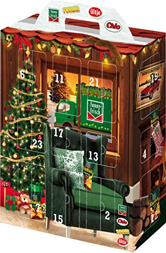 Intersnack Snack Adventskalender, 1er Pack (1 x 685 g) -
