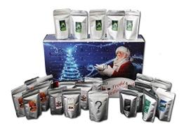 Kaffee Adventskalender - Kaffee aus aller Welt - 24 Geschenke gemahlener Kaffee - 1