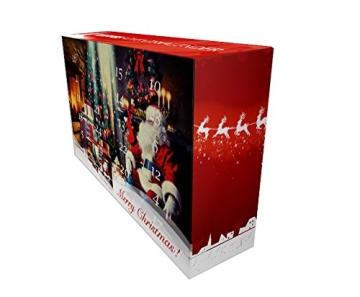 Kaffee Adventskalender (rot) - Kaffee aus aller Welt - 24 Geschenke inkl. Kopi Luwak (Spitzenkaffee von freilebenden Tieren) (24 x 40 g Kaffee ganze Bohnen) - 2