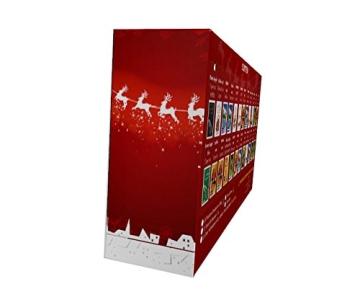 Kaffee Adventskalender (rot) - Kaffee aus aller Welt - 24 Geschenke inkl. Kopi Luwak (Spitzenkaffee von freilebenden Tieren) (24 x 40 g Kaffee ganze Bohnen) - 4