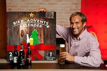KALEA Bier Adventskalender, Edition Deutschland, 24 Bierspezialitäten und 1 Verkostungsglas - 2
