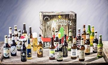 KALEA Bier Adventskalender, Edition Deutschland, 24 Bierspezialitäten und 1 Verkostungsglas - 3