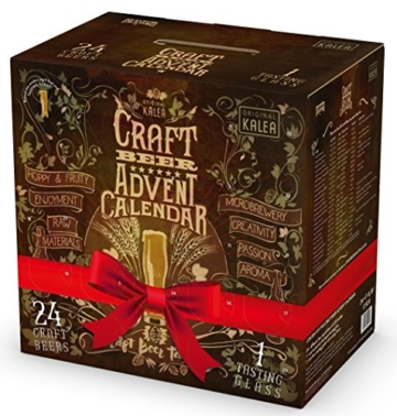 Kalea Craft Beer Adventskalender (24 x 0.33 l) - 1