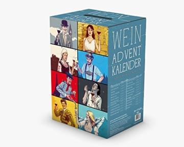 KALEA Wein Adventskalender (24 verschiedene Weinsorten à 0,25l) - 3