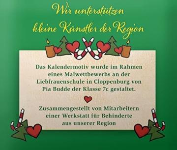 Lebensbaum Tee Adventskalender Köstlicher Advent, 2er Pack (2 x 45.5 g) - Bio -