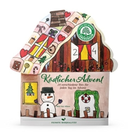 Lebensbaum Tee Adventskalender Köstlicher Advent, 2er Pack (2 x 45.5 g) - Bio -
