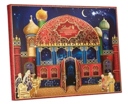 Lindt 1001 Weihnachtstraum Adventskalender, 1er Pack (1 x 281 g) -