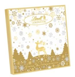 Lindt & Sprüngli Goldstücke Adventskalender, 1er Pack (1 x 156 g) -