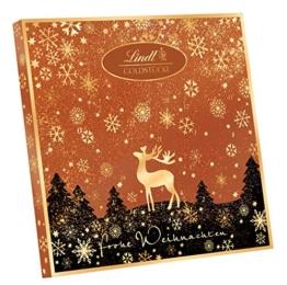 Lindt & Sprüngli Goldstücke Adventskalender Rotgold, 1er Pack (1 x 156 g) -
