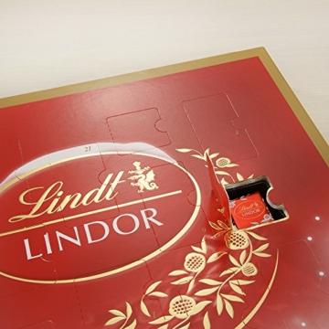 Lindt & Sprüngli Lindor Adventskalender, 1er Pack (1 x 290 g) -