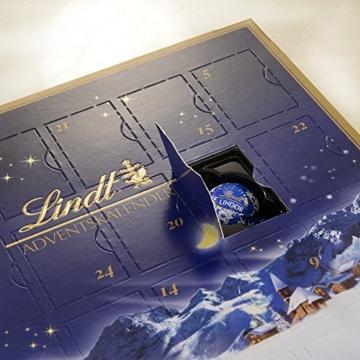 Lindt & Sprüngli Mini Tisch Adventskalender Weihnachts-Zauber, 2er Pack (2 x 115 g) -