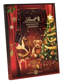 Lindt & Sprüngli Weihnachts-Tradition Adventskalender, 1er Pack (1 x 250 g) -