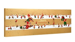 Lindt Süße Weihnachtshelfer Adventskalender, 1er Pack (1 x 250 g) -