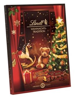 Lindt Weihnachtstradition Adventskalender, 1er Pack (1 x 253 g) -