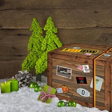 lustiger ddr adventskalender mit ost spezialit ten geschenkverpackung adventskalender f r. Black Bedroom Furniture Sets. Home Design Ideas