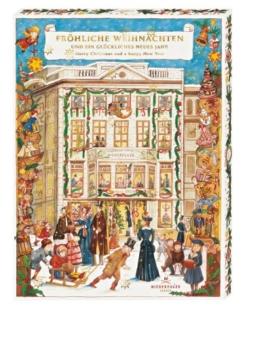 """Niederegger Adventskalender """"Café Niederegger"""" mit feinsten Pralinen und 32 Türchen, 1er Pack (1 x 525 g) -"""