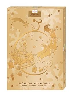 Niederegger Adventskalender Nougat, 1er Pack (1 x 500 g) -