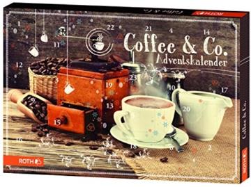 """Roth Frühstücks-Adventskalender """"Coffee und Co"""", 1er Pack (1 x 300 g) -"""