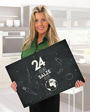 Salzkalender - Großer Adventskalender mit 24 Salzen aus aller Welt - 2