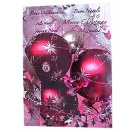 Schmuck Adventskalender mit Modeschmuck für Frauen und Mädchen -