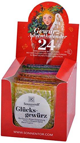 Sonnentor Gewürz-Adventskalender, 1er Pack (1 x 116 g) - Bio -
