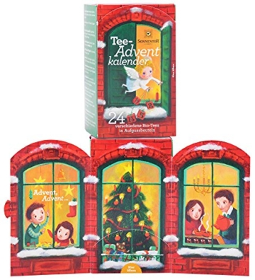 Sonnentor Tee-Adventkalender Edition 2015-2017 bio, Aufgussbeutel 24 Stck, 1er Pack (1 x 38 g) -