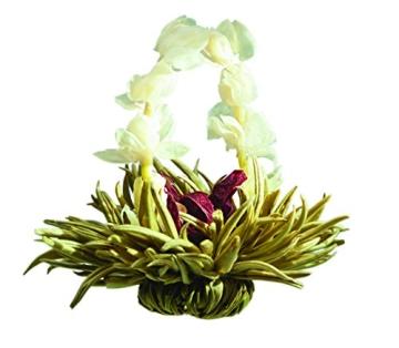 Teeblumen Adventskalender XXL mit einer Vielzahl von unterschiedlichen Teerosen und Teeblüten zum aufblühen, genießen & entspannen! Die ideale Geschenkidee oder einfach als Probier-Set - 2