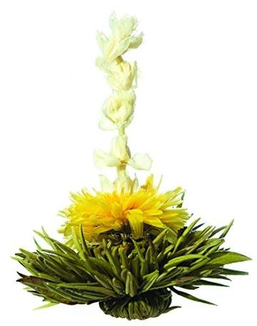 Teeblumen Adventskalender XXL mit einer Vielzahl von unterschiedlichen Teerosen und Teeblüten zum aufblühen, genießen & entspannen! Die ideale Geschenkidee oder einfach als Probier-Set - 3