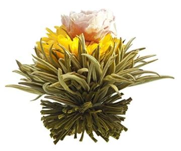 Teeblumen Adventskalender XXL mit einer Vielzahl von unterschiedlichen Teerosen und Teeblüten zum aufblühen, genießen & entspannen! Die ideale Geschenkidee oder einfach als Probier-Set - 4