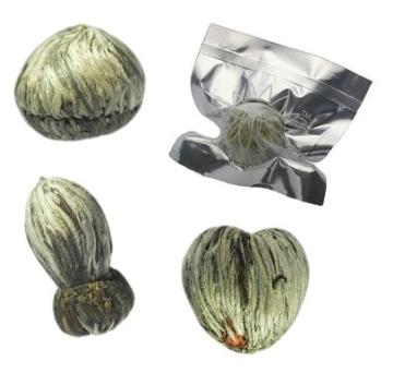 Teeblumen Adventskalender XXL mit einer Vielzahl von unterschiedlichen Teerosen und Teeblüten zum aufblühen, genießen & entspannen! Die ideale Geschenkidee oder einfach als Probier-Set - 5